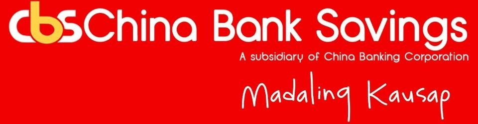 CHINABANK SAVINGS, INC.