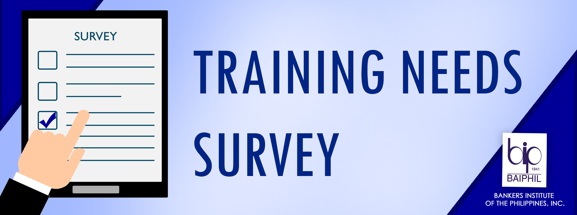 Training Needs Survey