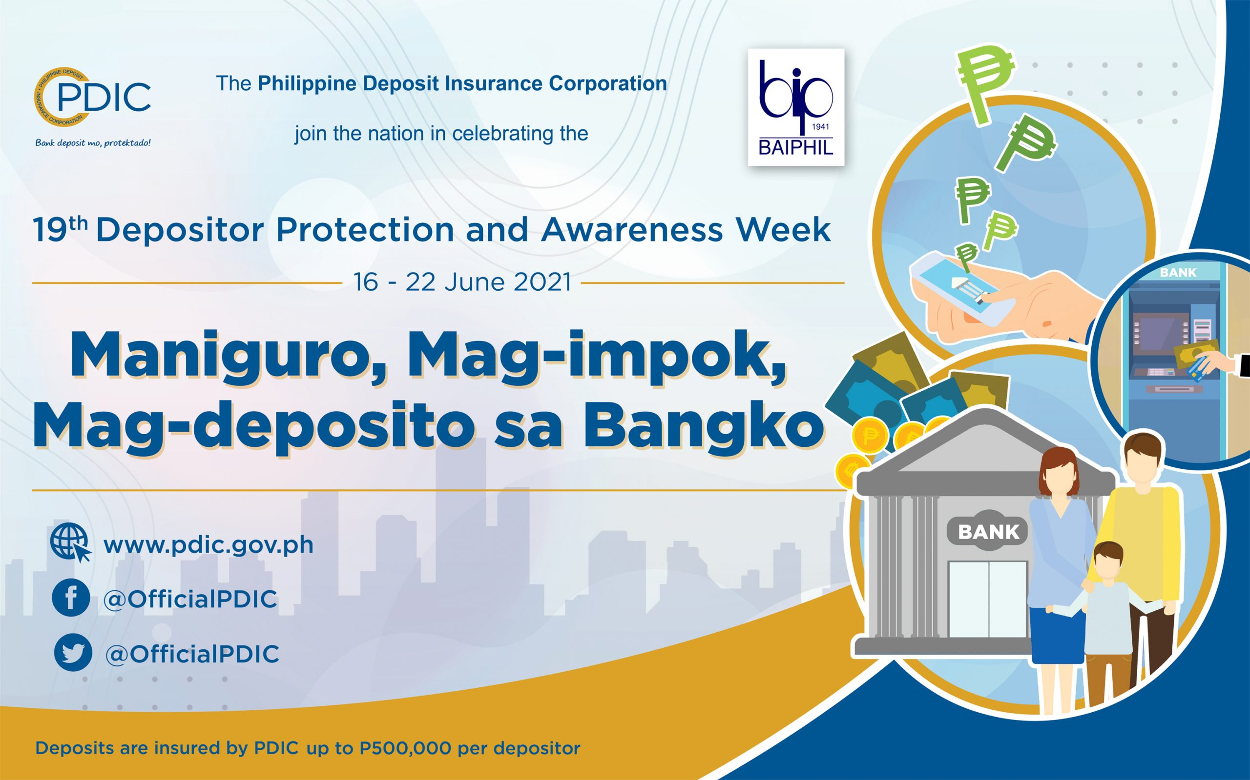 PDIC – 19th Depositor Protection and Awareness Week